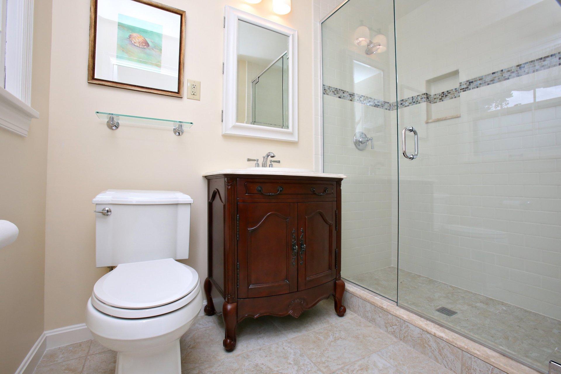 Powder Bathroom Remodel in Louisville KY
