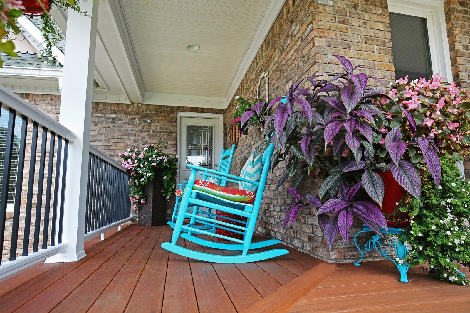 Porch in Louisville KY